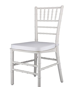White Tiffany Chairs for Sale