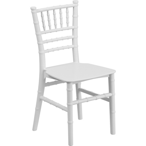 Kids White Tiffany Chairs